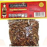 Chapulines Sazonados de Oaxaca Mexico 30 grms - Seasoned Grasshoppers from Oaxaca Mexico