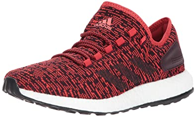 fa3f92d91 ... low price adidas mens pureboost tactile red dark burgundy black 10  medium us b4c26 bc916