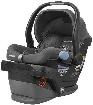 2018 UPPAbaby MESA Infant Car Seat Jordan Charcoal Melange Merino Wool Version