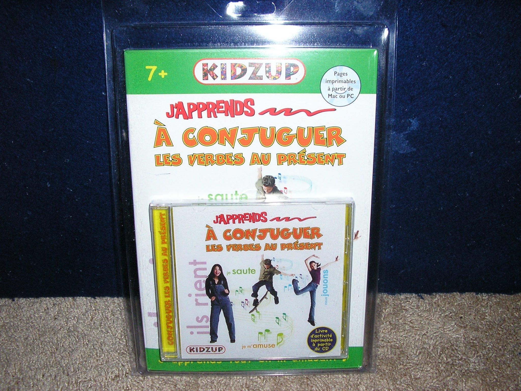 J Apprends A Conjuguer Les Verbes Au Present 9781897138335 Amazon Com Books