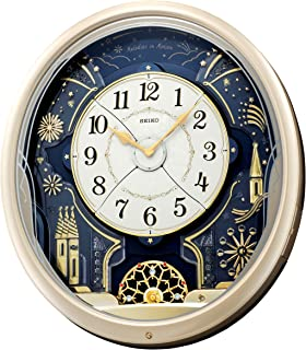 Amazoncom Seiko Melodies in Motion Musical Wall Clock Home