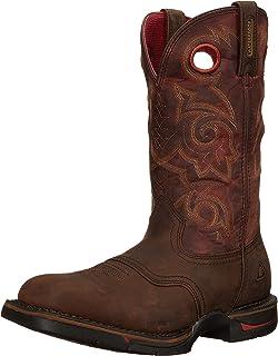 Amazon.com | Rocky Men's Long Range Western Boot | Industrial ...