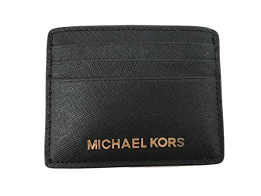 cfb0318d890a Amazon.com  Michael Kors Jet Set Travel Large Card Holder - Black  NC  TRADING