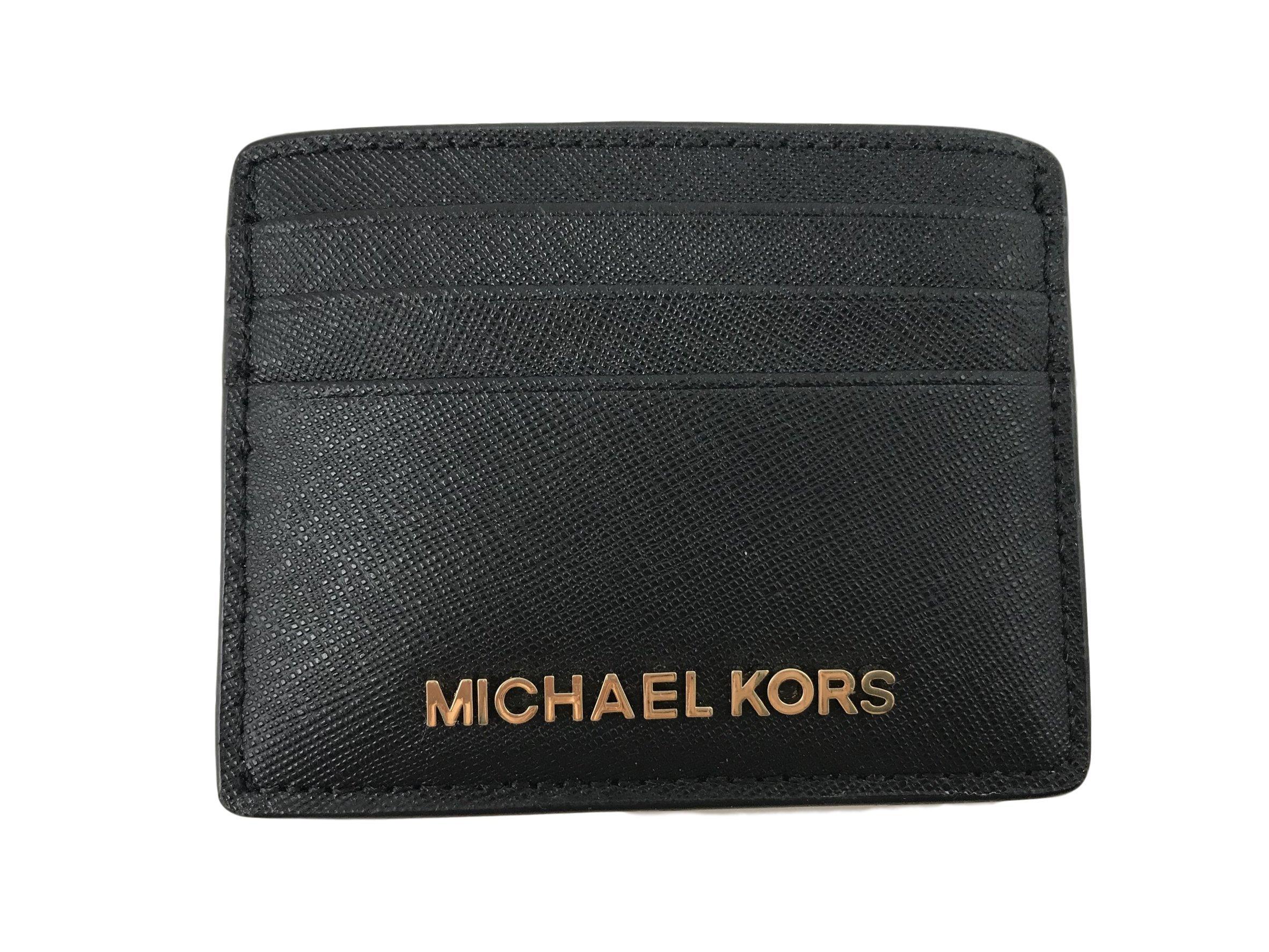 Michael Kors Jet Set Travel Large Card Holder - Black