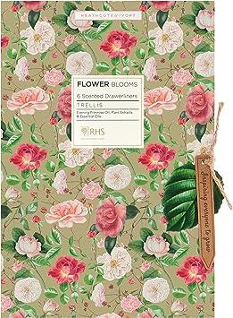RHS Beauty Enrejado perfumado para cajón, paquete de 5 hojas: Amazon.es: Salud y cuidado personal