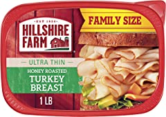 Hillshire Farm Ultra Thin Sliced Deli Lunch Meat, Honey Roasted Turkey Breast, 16 oz