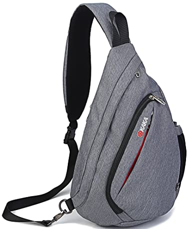 Sling Bag Chest Shoulder Backpack Crossbody Multipurpose Daypack Bagtrip BT01