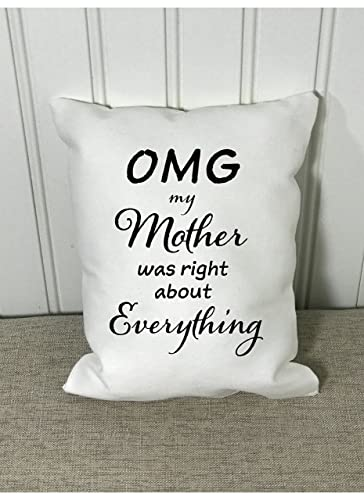 Amazon Mothers Day Pillow Quote Birthday Gift Decorative