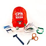 CPR Adult/Child Rescue Ready Kit & CPR Mask Keychain