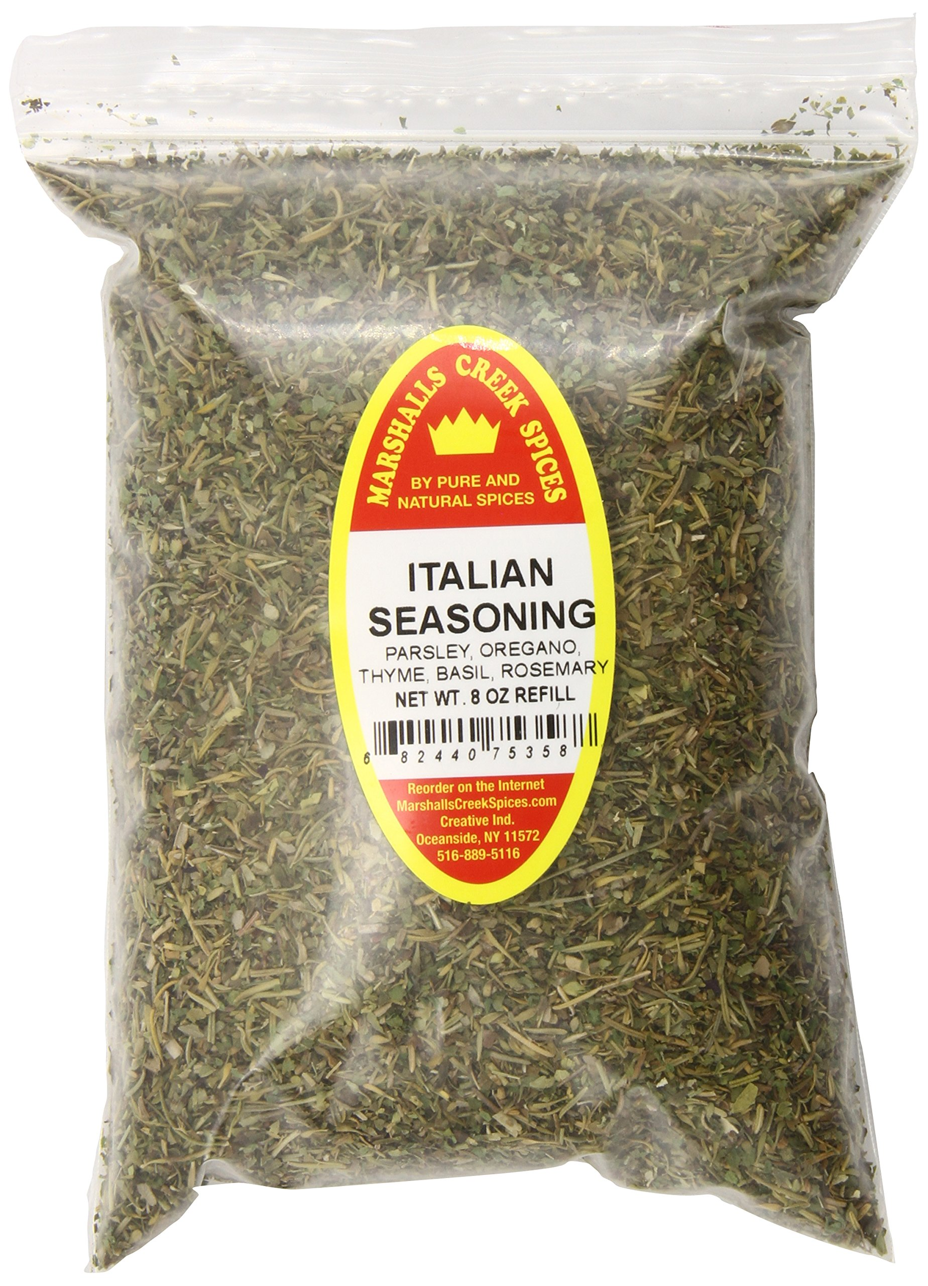 Marshalls Creek Spices X-Large Refill Italian Seasoning, 8 Ounce