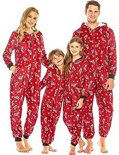 Family Christmas Pajamas Photoshoot.Family Matching Christmas Pajamas Set Sleepwear Jumpsuit