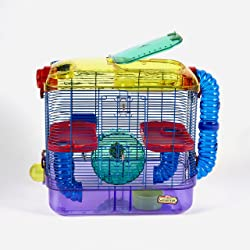 Kaytee CritterTrail Hamster Cage With 2-Level Habitat