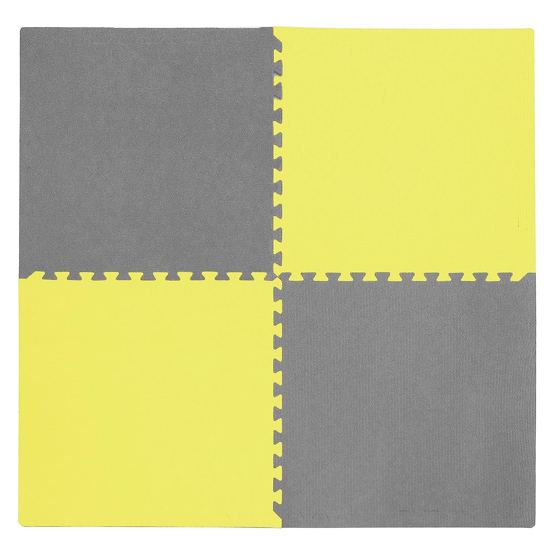 Tadpoles Playmat Set 4-Piece, 24 inch Set, Multi/Primary cpmsev823