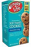 Enjoy Life Soft Baked Cookies, Soy free, Nut free, Gluten free, Dairy free, Non GMO, Vegan, Chocolate Chip, 1 Box