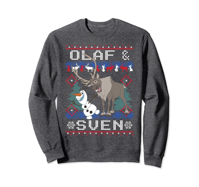 Amazon.com: Disney Frozen Olaf Sven Ugly Christmas Sweater ...