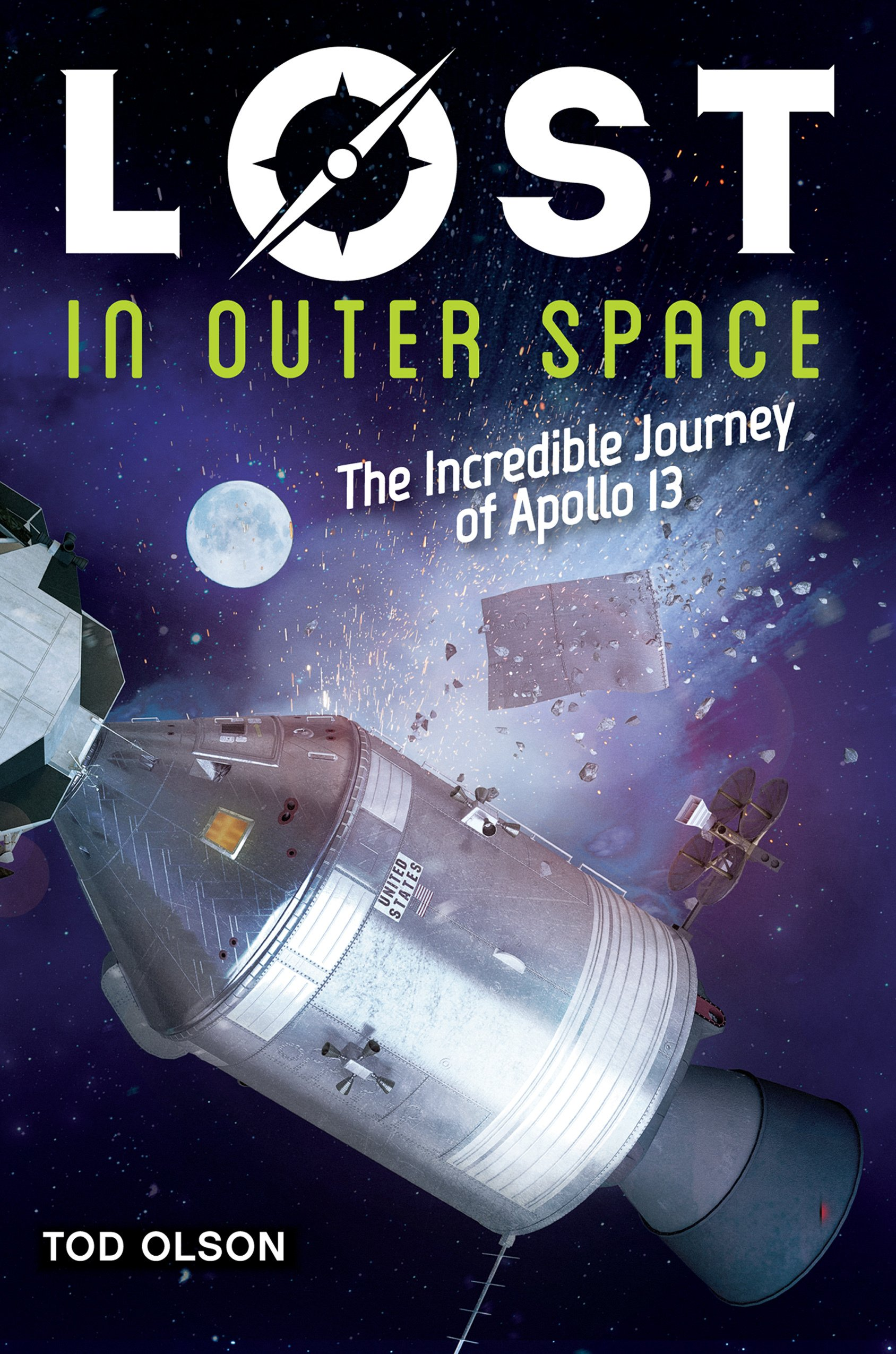 Download Lost in Outer Space (Lost #2): The Incredible Journey of Apollo 13 PDF