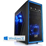 CSL Sprint D10027X (Octa) inkl. Windows 10 Home - AMD FX-8370E 8x 3300MHz, 16GB RAM, 1000GB HDD, GeForce GTX 1060, DVD