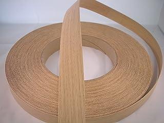 Iron-on Pre-Glued OAK Real Wood Veneer Edging 30mm wide (50 metres)