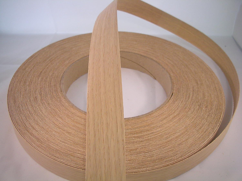 30mm x 5metres *Free Postage Fast Dispatch* Pre Glued Iron on Pine Wood Veneer Edging Tape