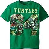 Teenage Mutant Ninja Turtles Big Boys' 1894 T-Shirt Shirt, Kelly Green, X-Large/ 18