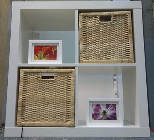 white shelving unit bookcase