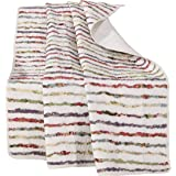 Greenland Home GL-THROWBE Bella Ruffle Throw