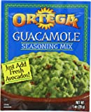 Ortega Guacamole Seasoning Mix, 1 Ounce (Pack of 12)