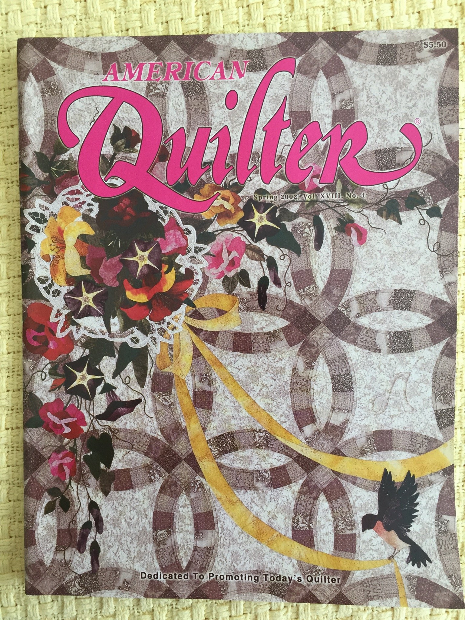Download American Quilter Magazine Single Issue Spring 2002 PDF
