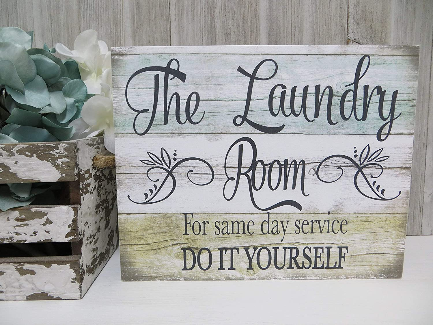 Decorative Sign Wood Laundry Room Sign The Laundry Room.for Same Day Service. Do It Yourself Funny Laundry Room Sign Laundry Room Decor Wood Plaque for Housewarming Gift