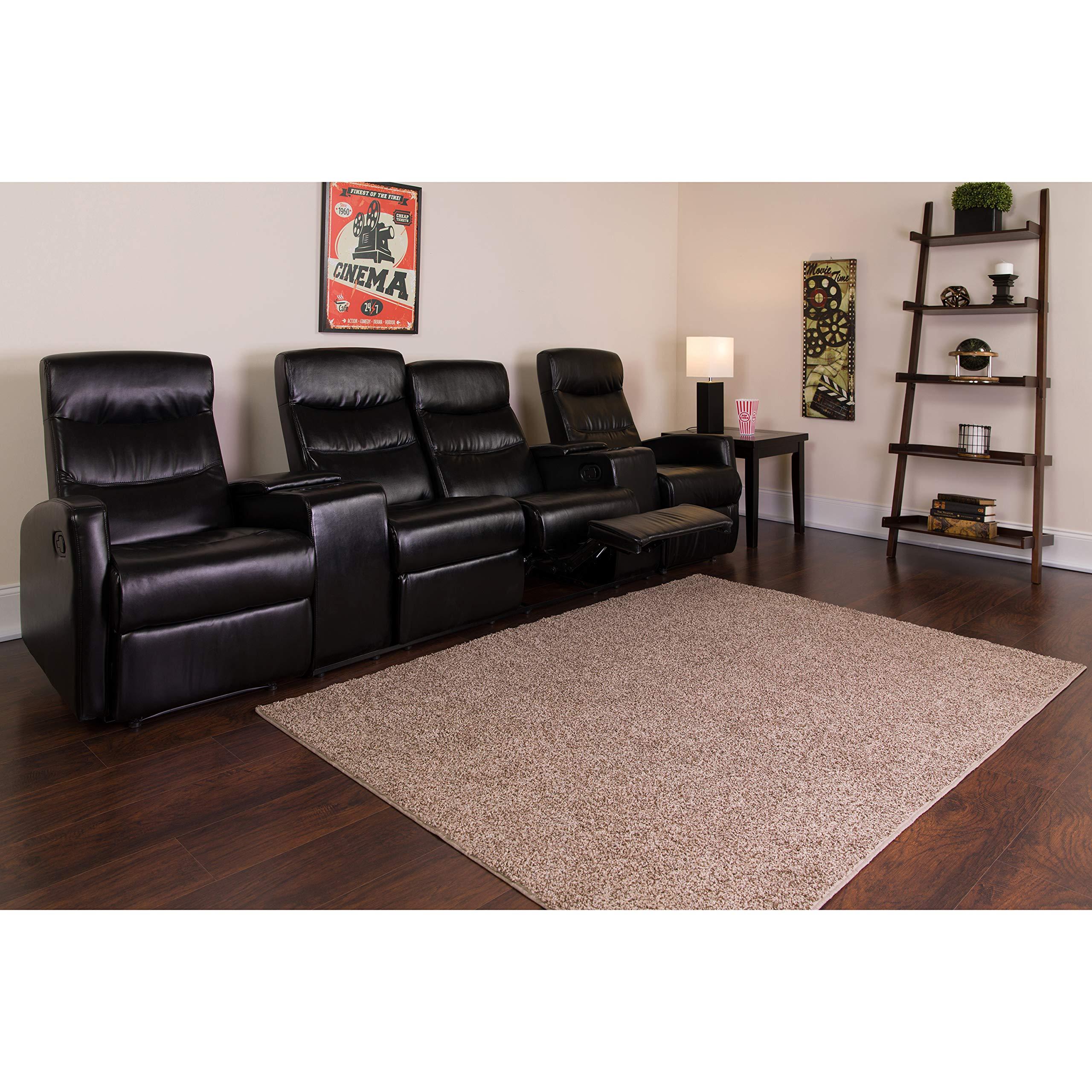 Flash Furniture Anetos Series 4-Seat Reclining