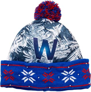 d731b1bfadf Forever Collectibles MLB Chicago Cubs World Series W Light Up Knit Hat