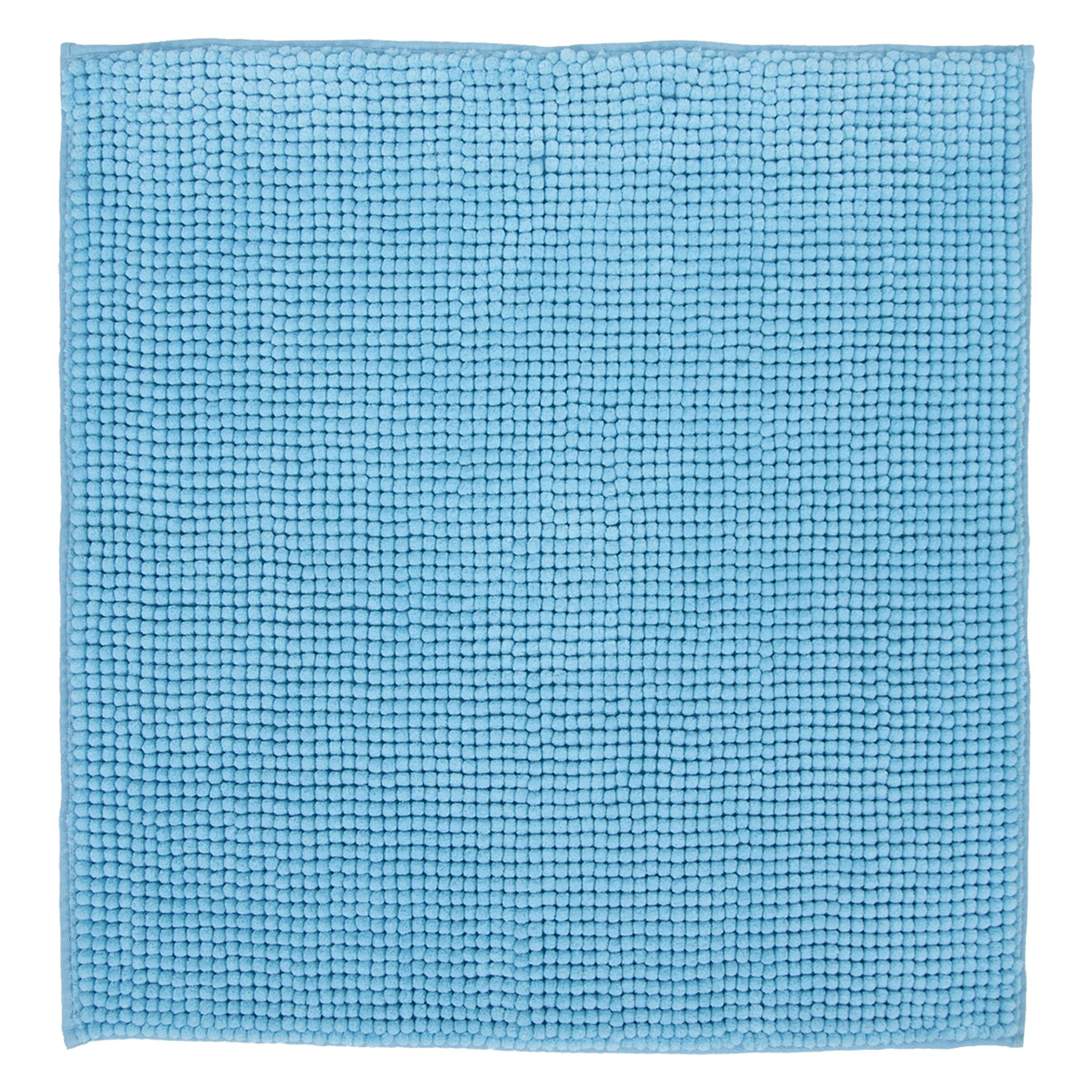 DIFFERNZ 31.102.95 Candore Bath Rug, Azure by Differnz