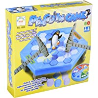 None Puzzle Table Games Balance Ice Cubes Save Penguin Icebreaker Beating Interactive Desktop Party Games (38 pcs ICES)