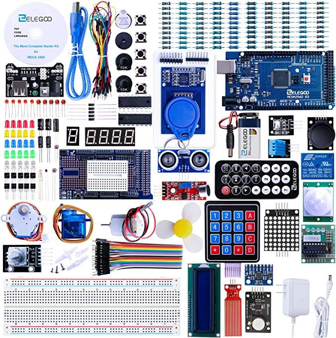 Complete Arduino Starter Pack For Coders And Programmers