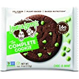 Lenny & Larry's The Complete Cookie, Choc-O-Mint, Soft Baked, 16g Plant Protein, Vegan, Non-GMO, 4 Ounce Cookie (Pack of 12)