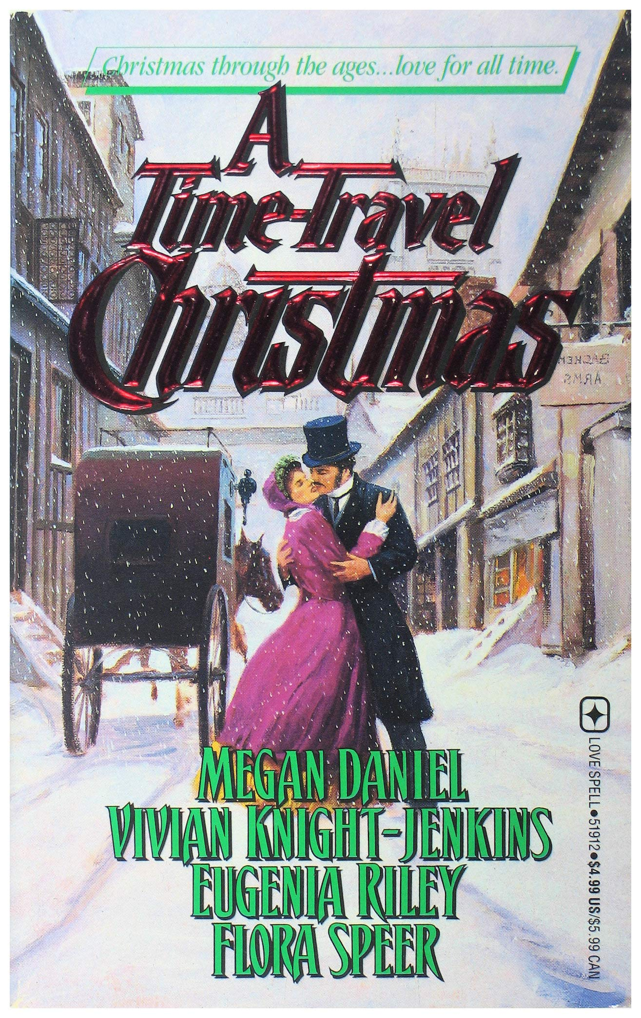A Time-Travel Christmas by Leisure Books (Mm)