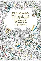 Millie Marotta's Tropical World (Postcard Book): 30 postcards (A Millie Marotta Adult Coloring Book) Cards
