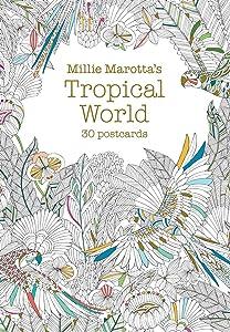 Millie Marotta's Tropical World (Postcard Book): 30 postcards (A Millie Marotta Adult Coloring Book)