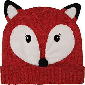 Aroma Home Click & Heat Cosy Hat Fox with Reusable Heat Packs