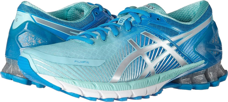 Asics Gel-Kinsei 6, Zapatillas de Deporte para Mujer, Multicolor (Diva Blue/Silver/Aqua Splash), 38 EU: Amazon.es: Zapatos y complementos