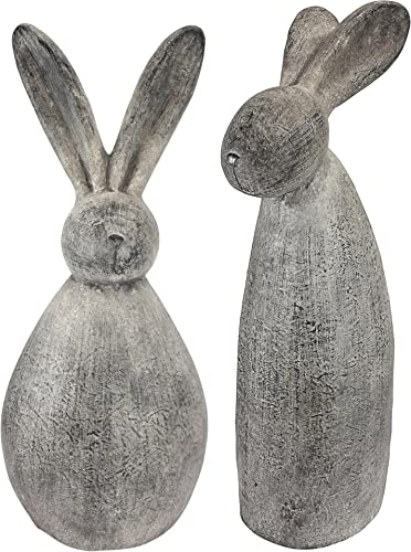 Design Toscano FU983242 Big Burley Bunnies: Stan and Oliver Garden Statue