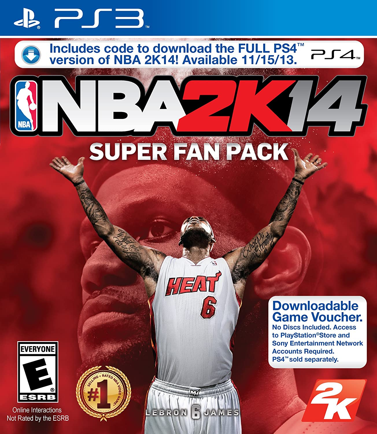 Amazon com: NBA 2K14 Playstation 3 PS3 Super Fan Pack with
