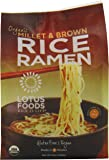 Lotus Foods Organic Rice Ramen Noodles, Millet and Brown Rice, 6 Count