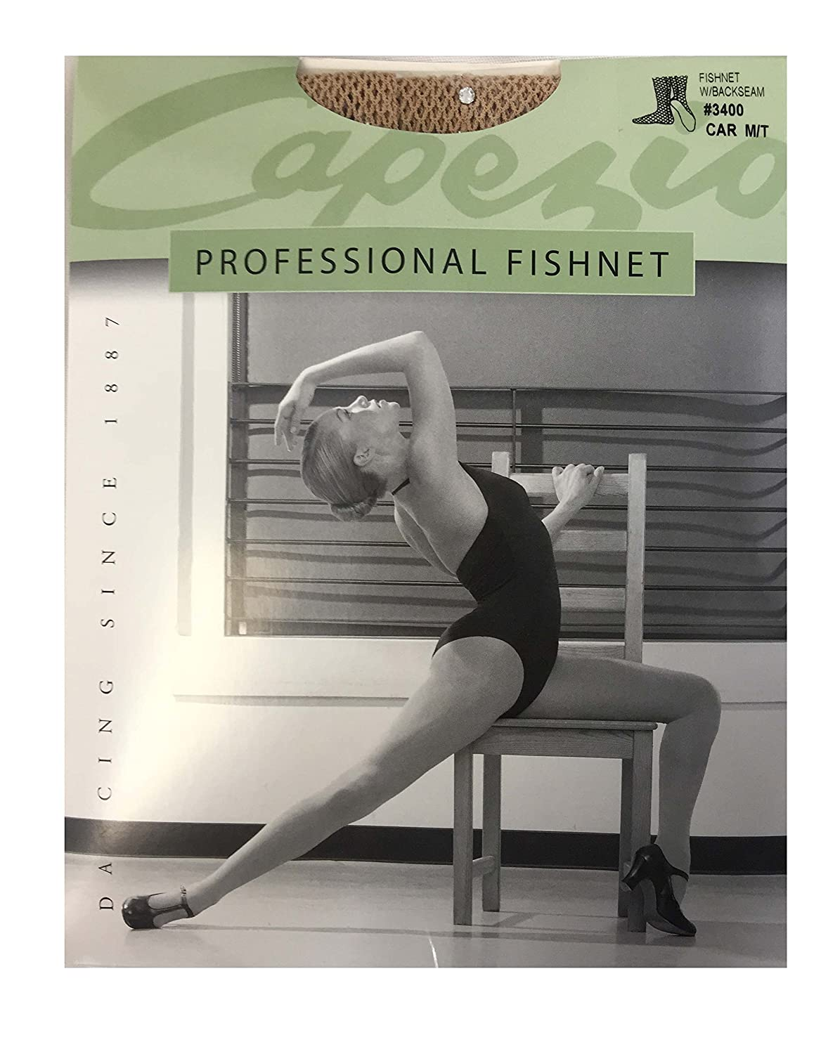 70887a7163219 Capezio Swarovski Rhinestones Fishnet Seamed Tights 3400 at Amazon Women's  Clothing store: