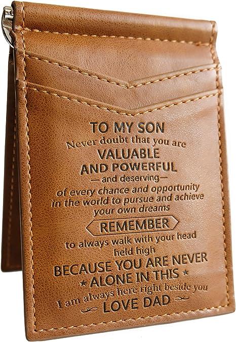 Amazon.com: Tarjetero para tarjetas de regalo para hijo ...
