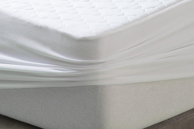 SAVEL 80x190cm Impermeable Protector Acolchado Confort