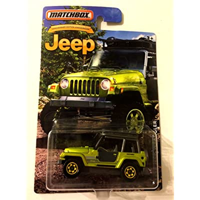 Matchbox 1998 Jeep Wrangler Anniversary Edition: Toys & Games