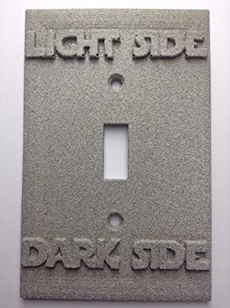 Amazon star wars lightdark side light switch cover custom star wars lightdark side light switch cover custom stone sciox Image collections