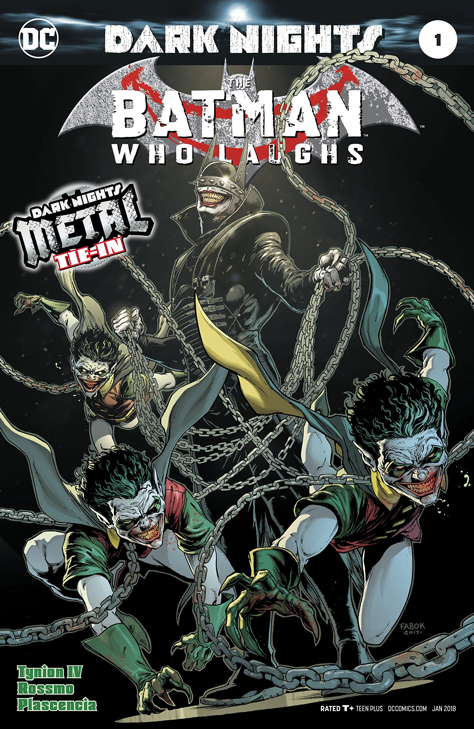 Batman Who Laughs 1 Dark Nights Metal Tie In