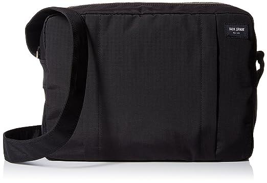 Amazon.com: Jack Spade Men's Tech Travel Nylon Shoulder Bag, Black ...